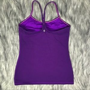 Lululemon Tank Top Chilled No Pads Luon Womens 8